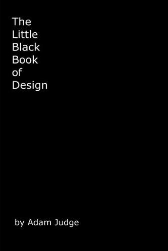 Screenshot of the cover of the Little Black Book of Design