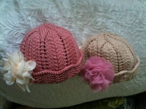 Knitted hats by Jessica