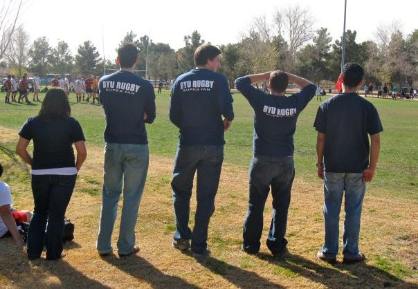 BYU Rugby fans