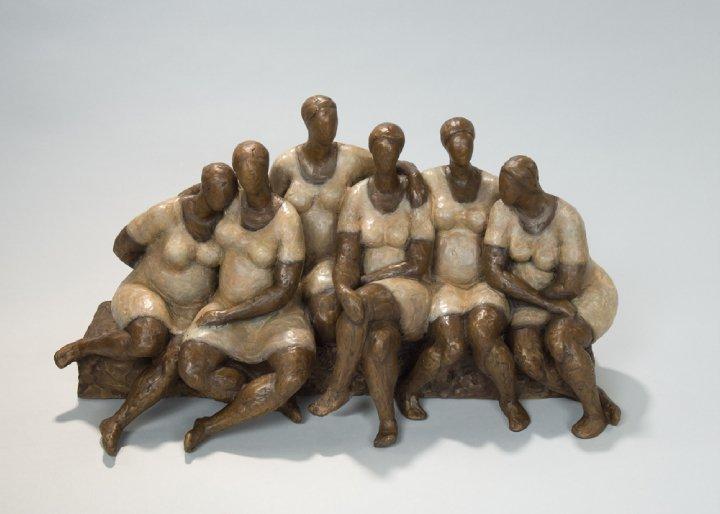 Sculpture of Women by Nnamdi