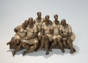 Sculpture of Women by Nnamdi