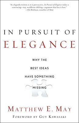 Book cover of the In Pursuit of Elegance book