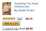 Link to the book Anything You Want on Amazon