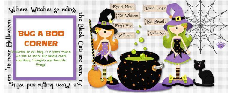Graphic of Bugagoo Halloween stuff