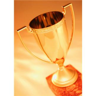 a victory cup