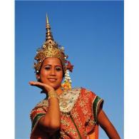 photo of a thai dancer