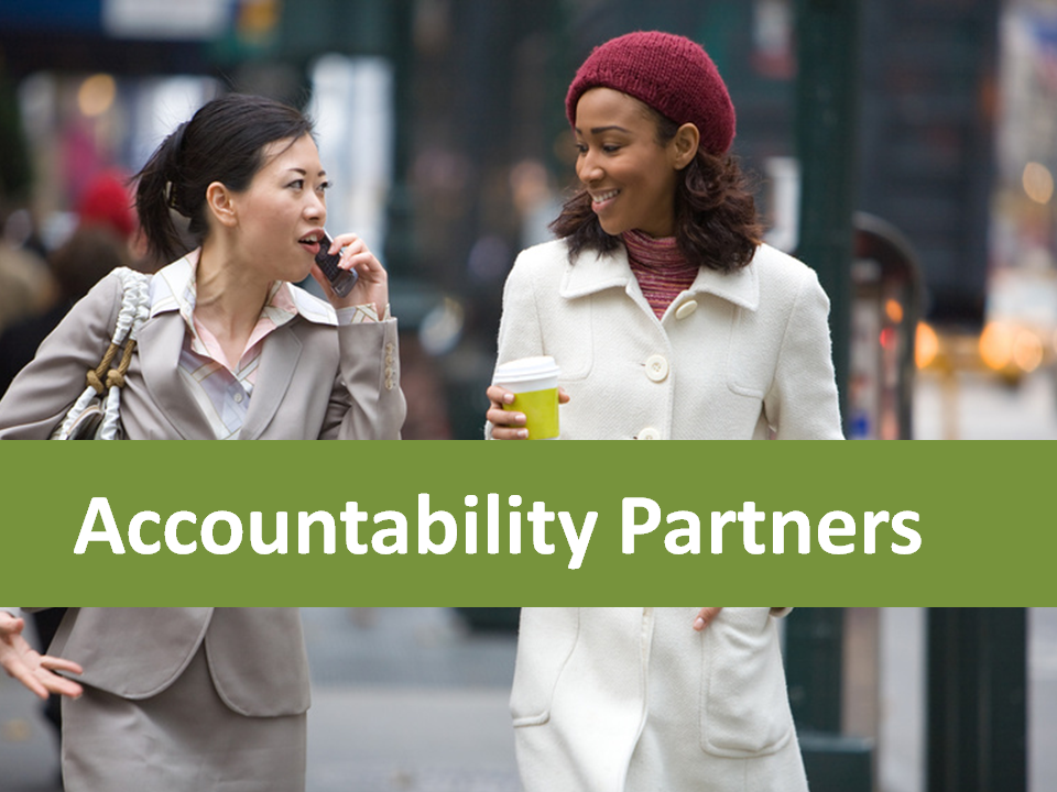 How to Find and Work with an Accountability Partner