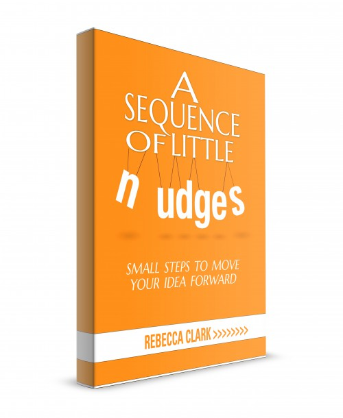 book cover for a sequence of little nudges